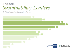 The 2015 Sustainability Leaders, A GlobeScan/SustainAbility Survey Report